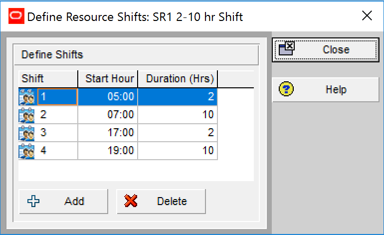 Finding Setting Up or Changing Resource Availability in P6 a Struggle defineshifts 6